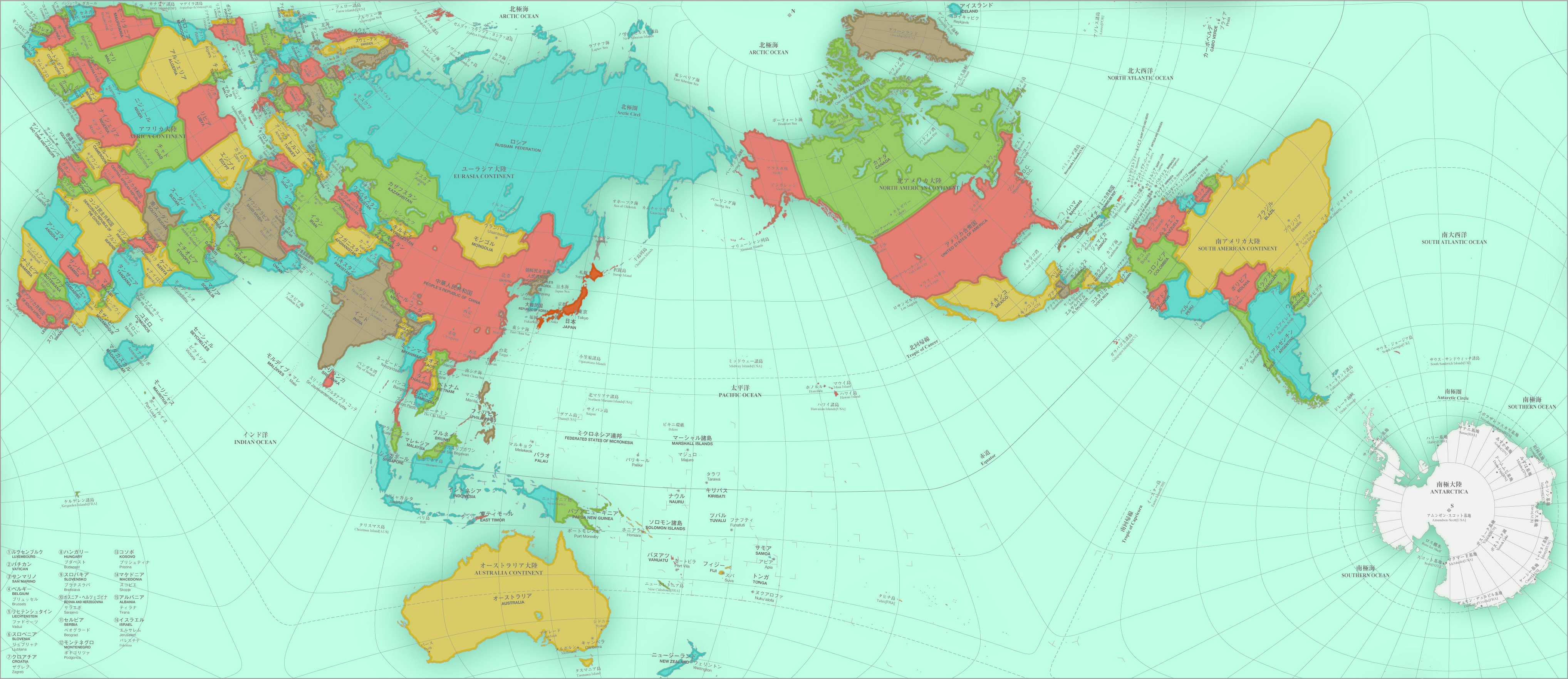 Authagraph my newest favorite world map taylor raack authagraph gumiabroncs Gallery