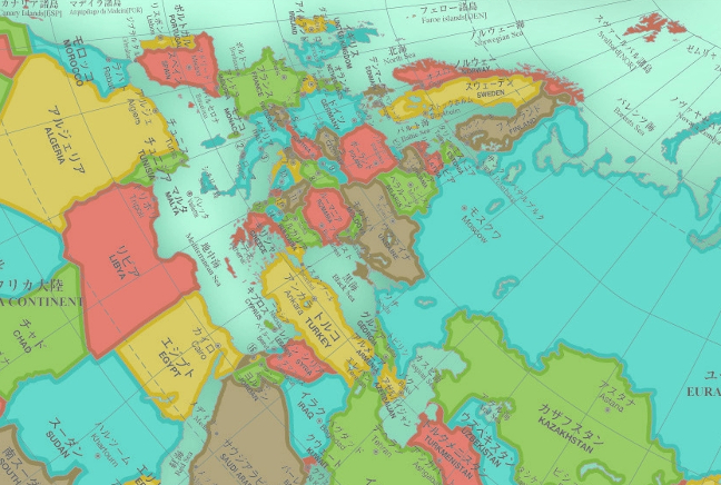 Authagraph My Newest Favorite World Map Taylor Raack